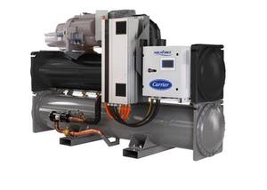 變頻螺杆式冷水機組及熱泵