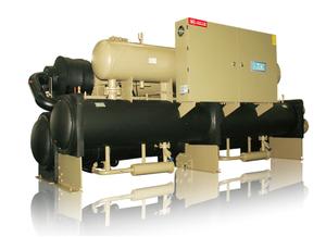 高效廢熱源/中水源螺杆水源熱泵機組